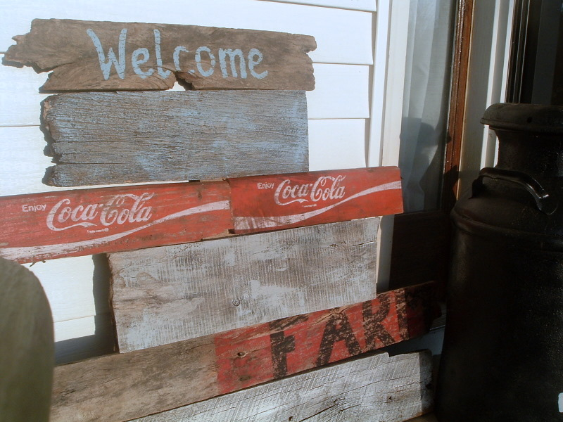 Pottery Barn Knock Off Rustic Sign DIY Tutorial
