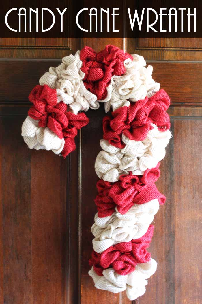 How To Make A Candy Cane Wreath : candy, wreath, Candy, Wreath, Country, Cottage