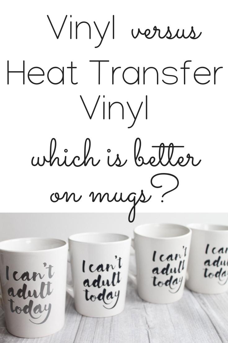 Cricut Coffee Mug Ideas : cricut, coffee, ideas, Vinyl, Transfer, Mugs?, Which, Better?, Country, Cottage