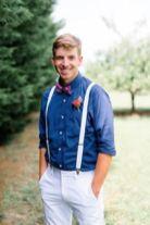 Rose to match Bridal Bouquet, Summer Nautical Wedding