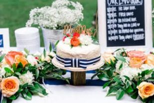Nautical Themed Summer Wedding