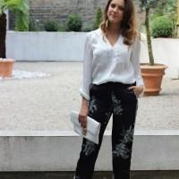 3 Ways to Wear: Zara Pajama Print suit (part 3)