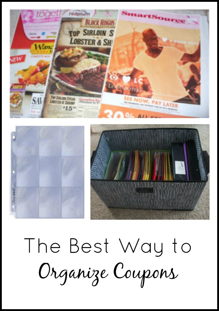 The Best Way to Organize your Coupons