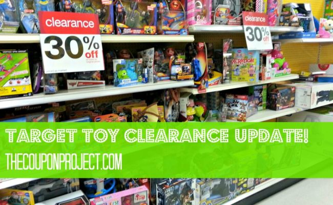 Target Toy Clearance And Other Markdowns An Update For