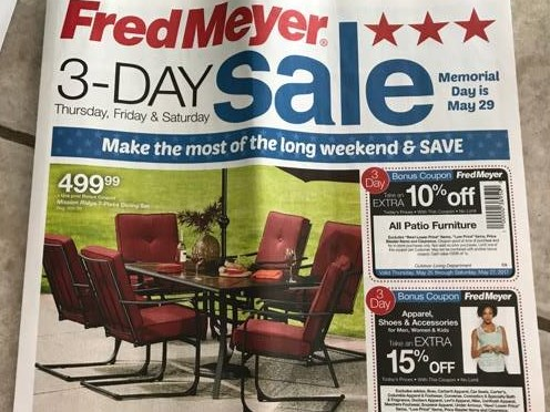 fred meyer 3 day sale 5 25 5 27