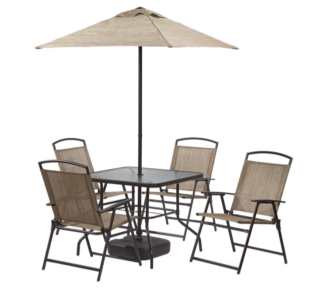 home depot 7 piece patio set with