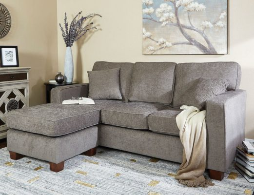 sectional sofa deals free shipping comfortable sleepers sam s club ave six russell reversible for 399 normally we don t post much about big ticket items but i ve been eyeing this deal myself so wanted to share it with you right now members can