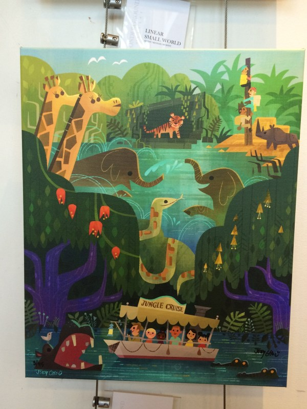 Disneyland Jungle Cruise Painting