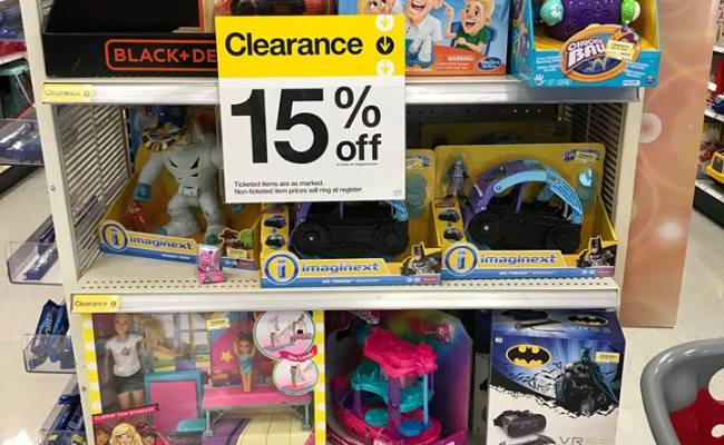 Target Summer Toy Clearance 2018 Update