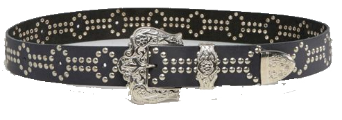 ASOS Retro Luxe London Hand Studded Belt £45