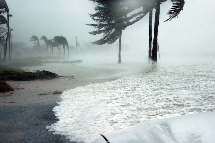 Storm surges could threaten coastal populations.