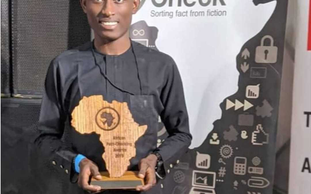The Courtroom cofounder, Tijani Mayowa, wins big in African Fact-Checking Awards