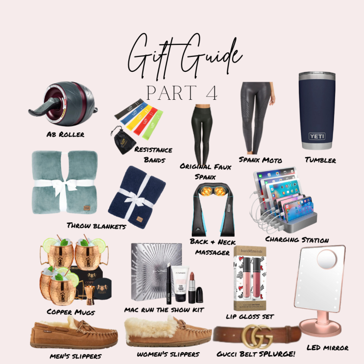 gift guides part 4!!! five things friday part 20 with a random mix!
