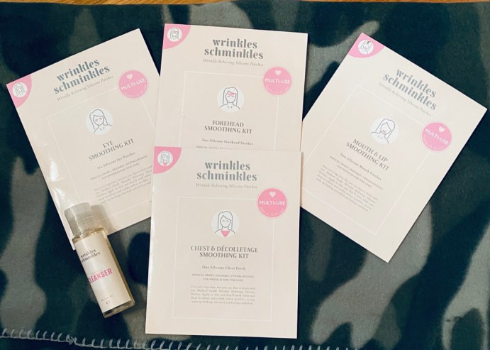 wrinkles schminkles- medical grade silicone patches for face, neck, & chest!