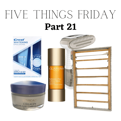 new year and five things friday part 21!!!