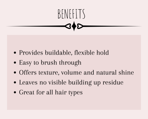 The benefits of this amazing monat hairspray