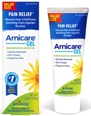 Arincare Gel - great for bruising. Five Things Friday part 29!