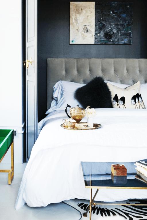 glam feminine bedroom Apartment Envy   the covetable