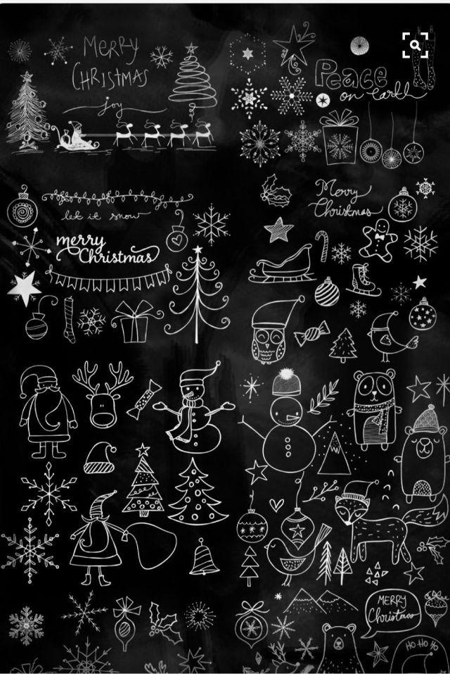 Christmas Chalkboard Ideas The Covet Files