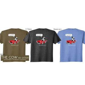 The Cow T-shirts