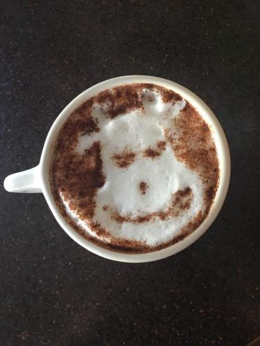 The Cow Cappuccino