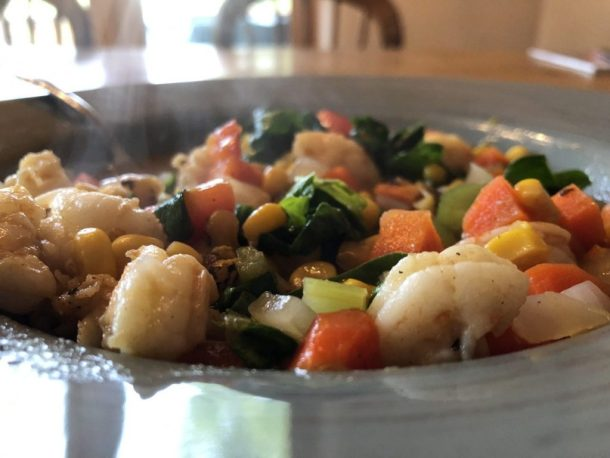 Shrimp and corn chowder 2020