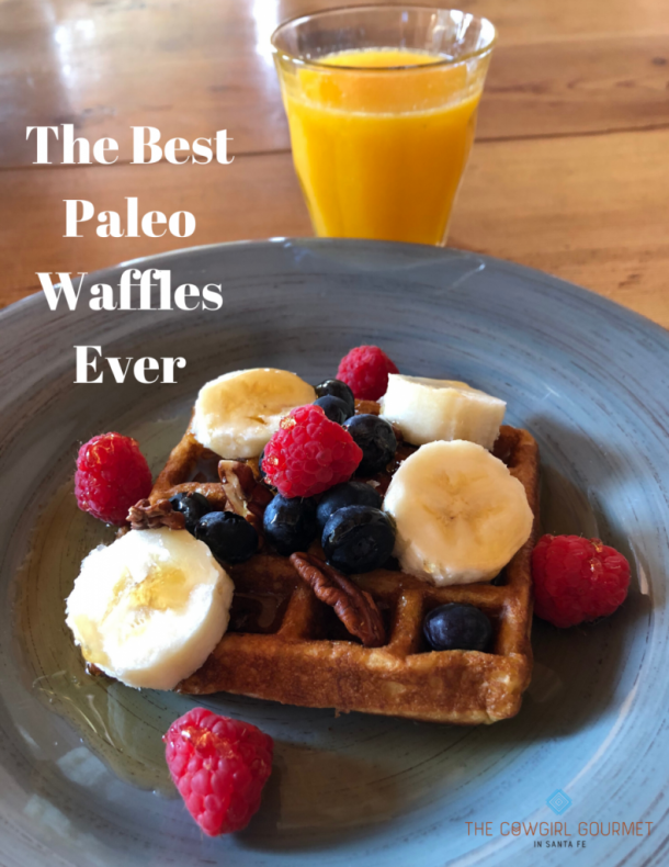 The Best Paleo Waffles Ever