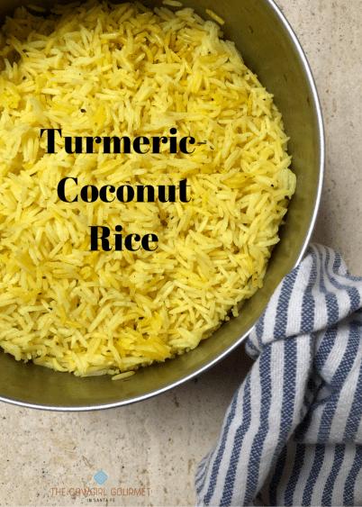 Turmeric-Coconut Rice