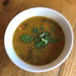 azteca squash soup