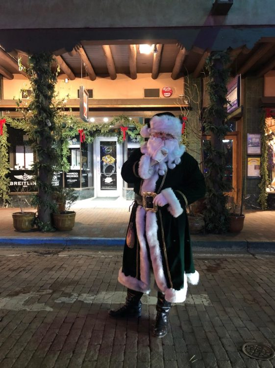 Santa in the Plaza 2018