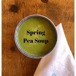 Sunrise Springs spring pea soup