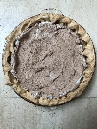Angel chocolate pie