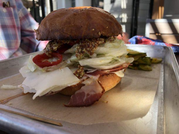 The Grove Italian sandwich