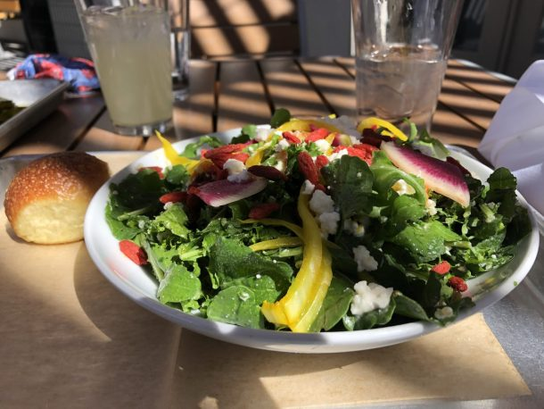The Grove fall harvest salad