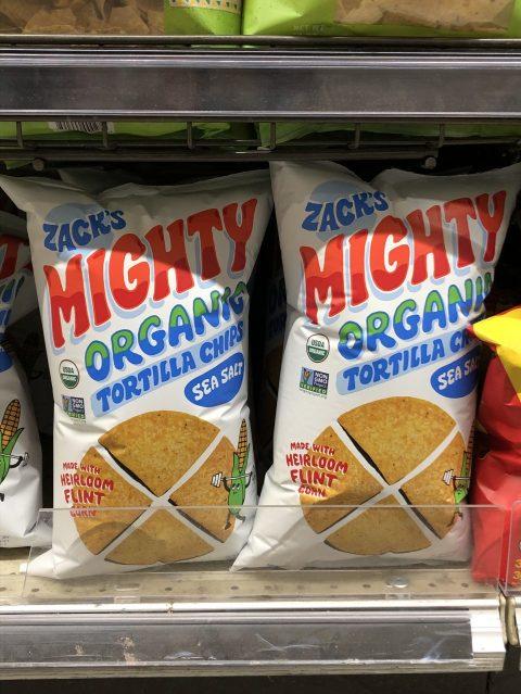 Zack's Mighty Organic Tortilla Chips