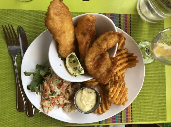 TerraCotta fish and chips