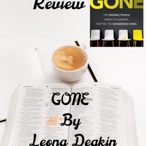 Book Review 7 - Blog Tour: Gone by Leona Deakin @annecater @LeonaDeakin1 @TransworldBooks