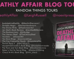deathly affair bt poster 1 1 - Blog Tour: Deathly Affair by Leigh Russell @LeighRussell @annecater @noexitpress