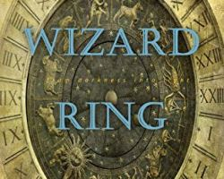 Book cover for Wizard Ring by clare Blanchard