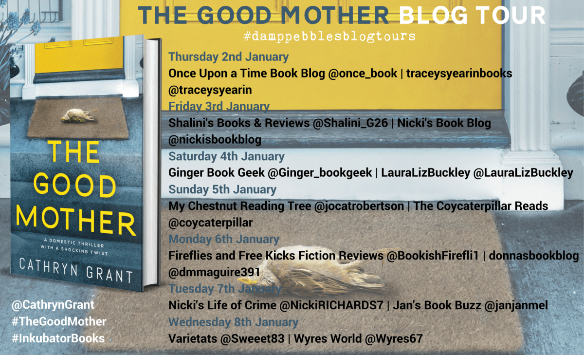 The Good Mother banner V2 - Book Review: The Good Mother by Cathryn Grant