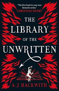 48408361. SY475  - Review|The Library of the Unwritten by A.J. Hackwith