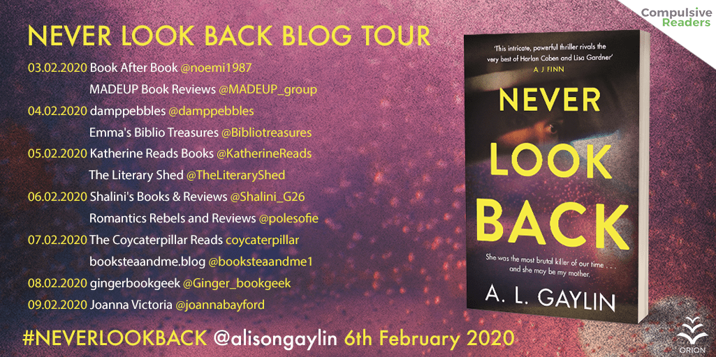 Never Look Back MMP Blog Tour - Blog Tour: Never Look Back by A.L. Gaylin
