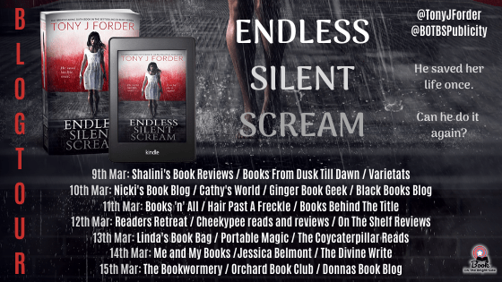 BLOG TOUR 2 - Blog Tour: Endless Silent Scream (DI Bliss #6) by Tony J. Forder
