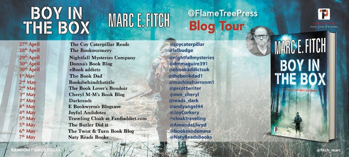 Boy in the Box BT Poster  - Blog Tour: Boy In The Box by Marc E. Fitch