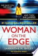 woman on the edge by samantha m bailey - Blog Tour:  Woman on the Edge by Samantha M. Bailey