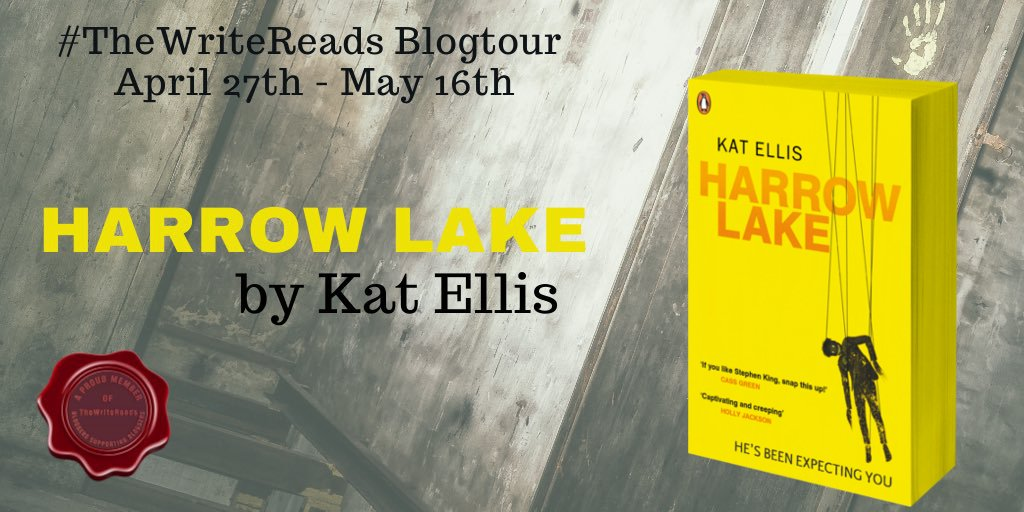 LJ Rilhz - Blog Tour: Harrow Lake by Kat Ellis