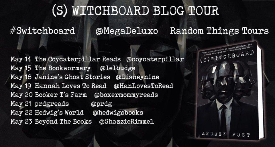 Switchboard BT Poster  - Blog Tour: Switchboard by Andrew Post