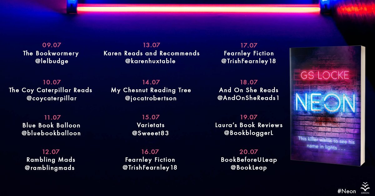 20200708 223823 - Neon by G.S. Locke | Blog Tour