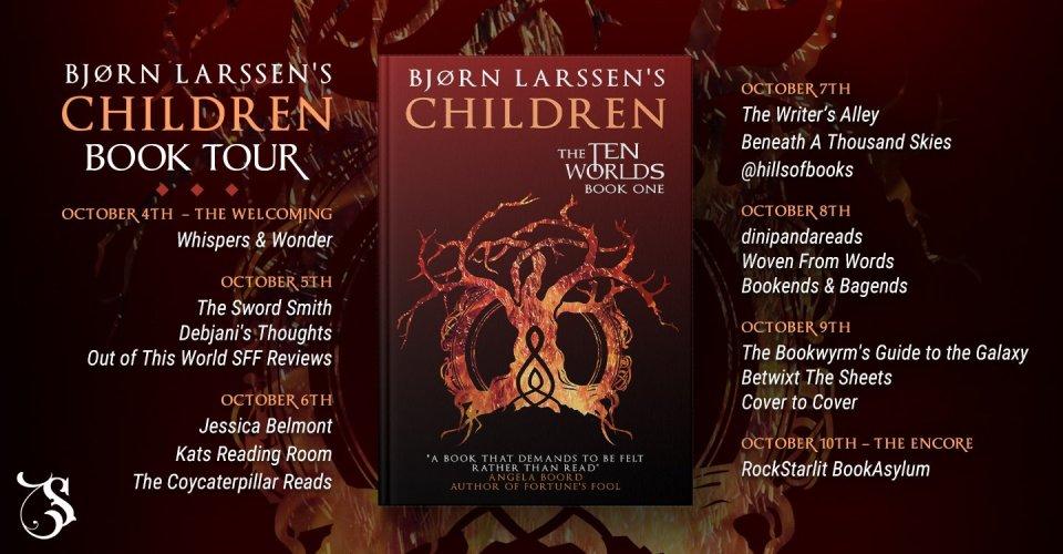 UPDATED children larssen banner hosts - Children by Bjørn Larssen | Blog Tour