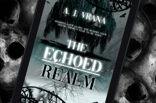 BookBrushImage722 - The Echoed Realm by A.J. Varna | COVER REVEAL